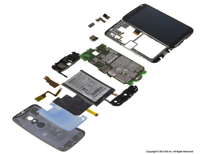 Smartphones Ihs Sch 228 Tzt Materialwert Des Moto X Auf 214