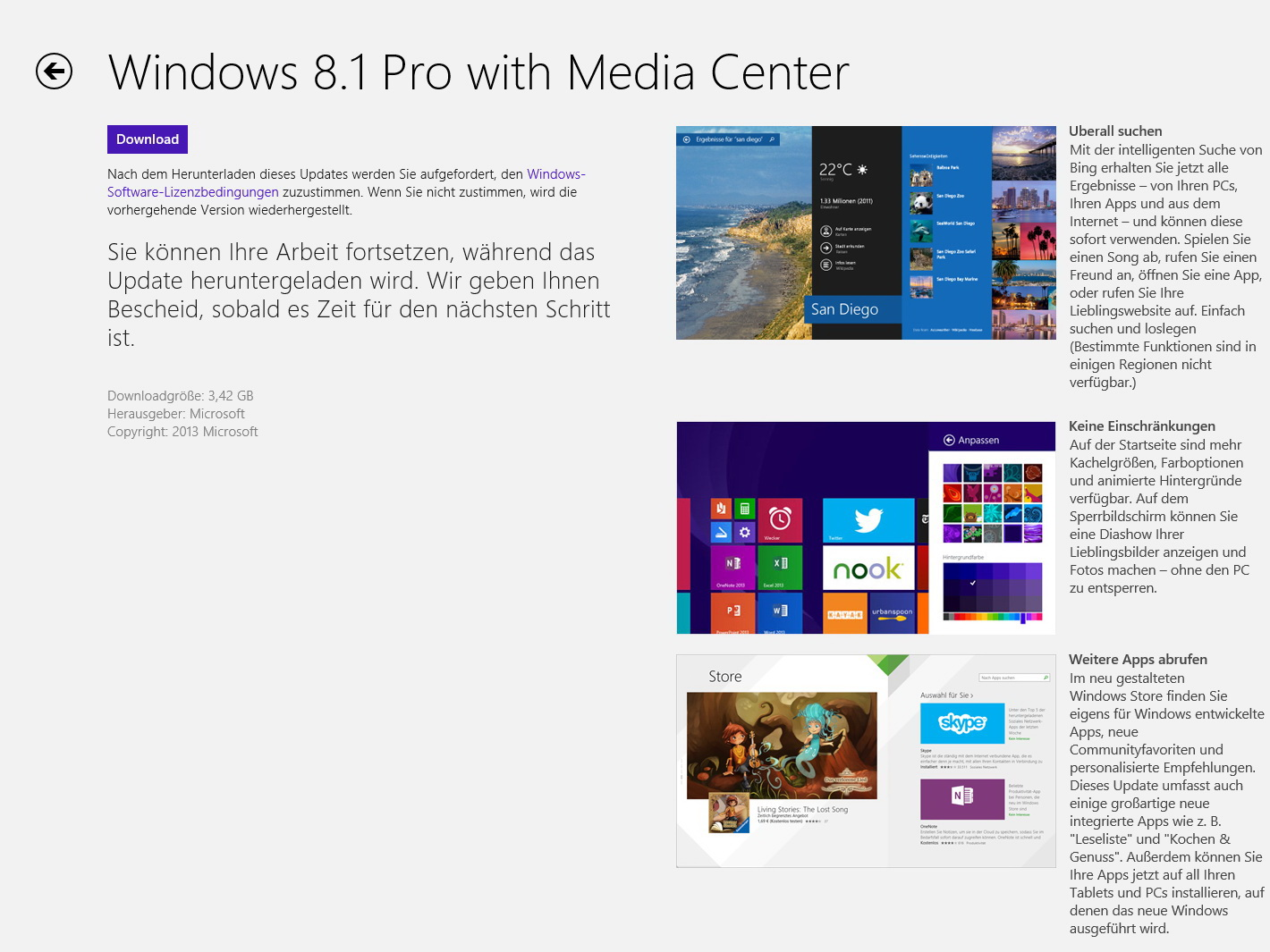 Microsoft: Windows 8.1 ist da - Notebookcheck.com News