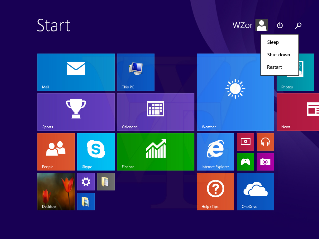 Microsoft Windows 81 Update 1 Startet Mit Windows Desktop