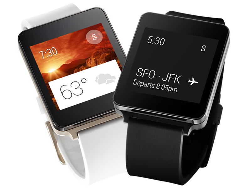 LG Smartwatch G Watch: Staub- und wasserdicht in den ...