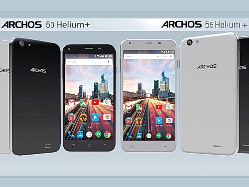 archos smartphones 50 helium plus und 55 helium plus ab juli news. Black Bedroom Furniture Sets. Home Design Ideas