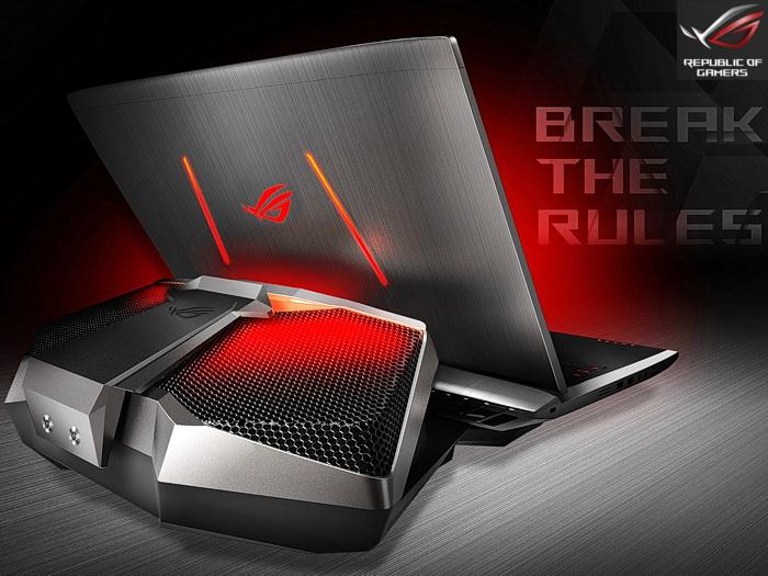 asus rog gx700 verkaufsstart f r das gaming notebook mit