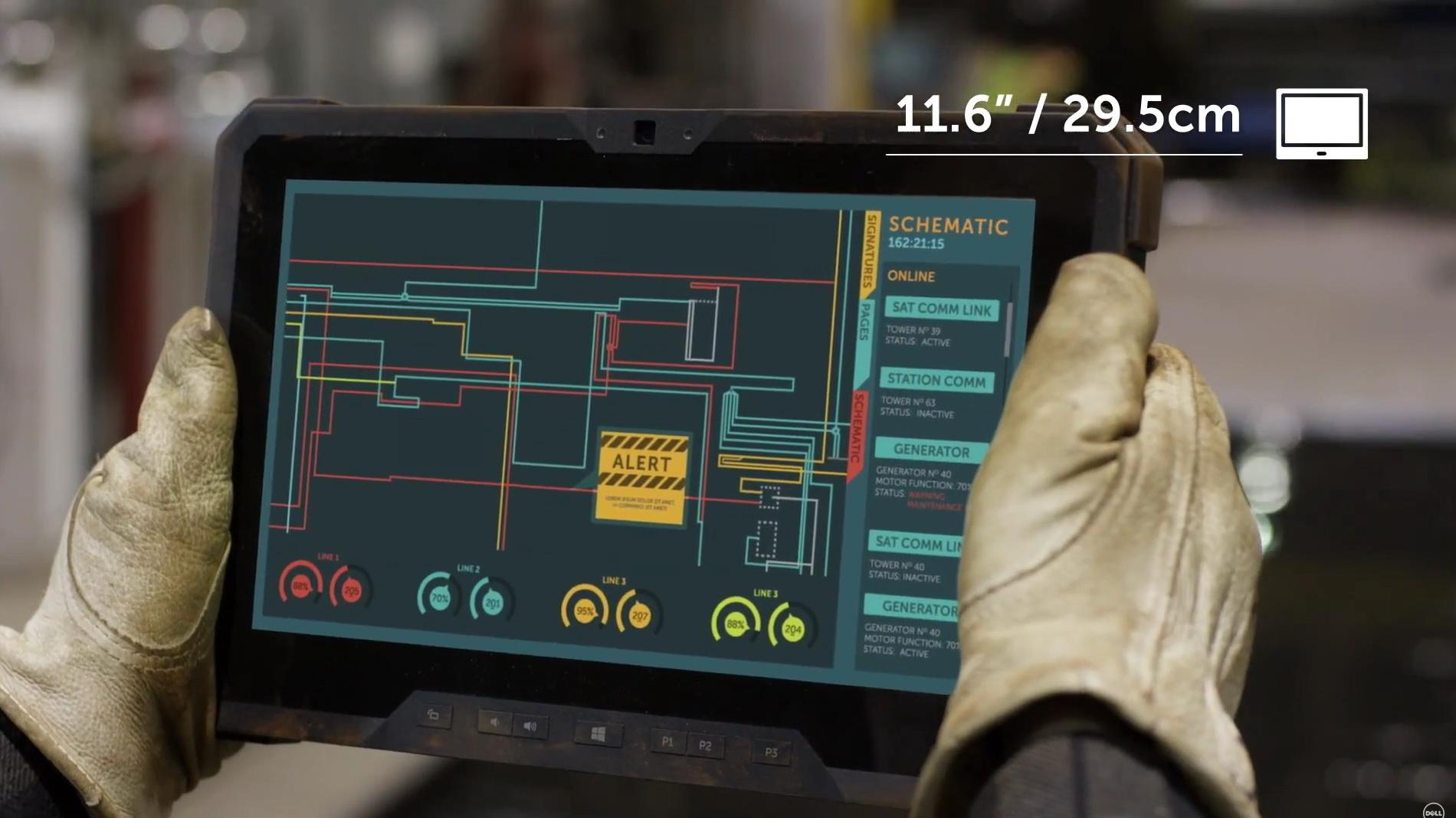 Dell Latitude 12 Rugged Tablet Ganz Hart Im Nehmen