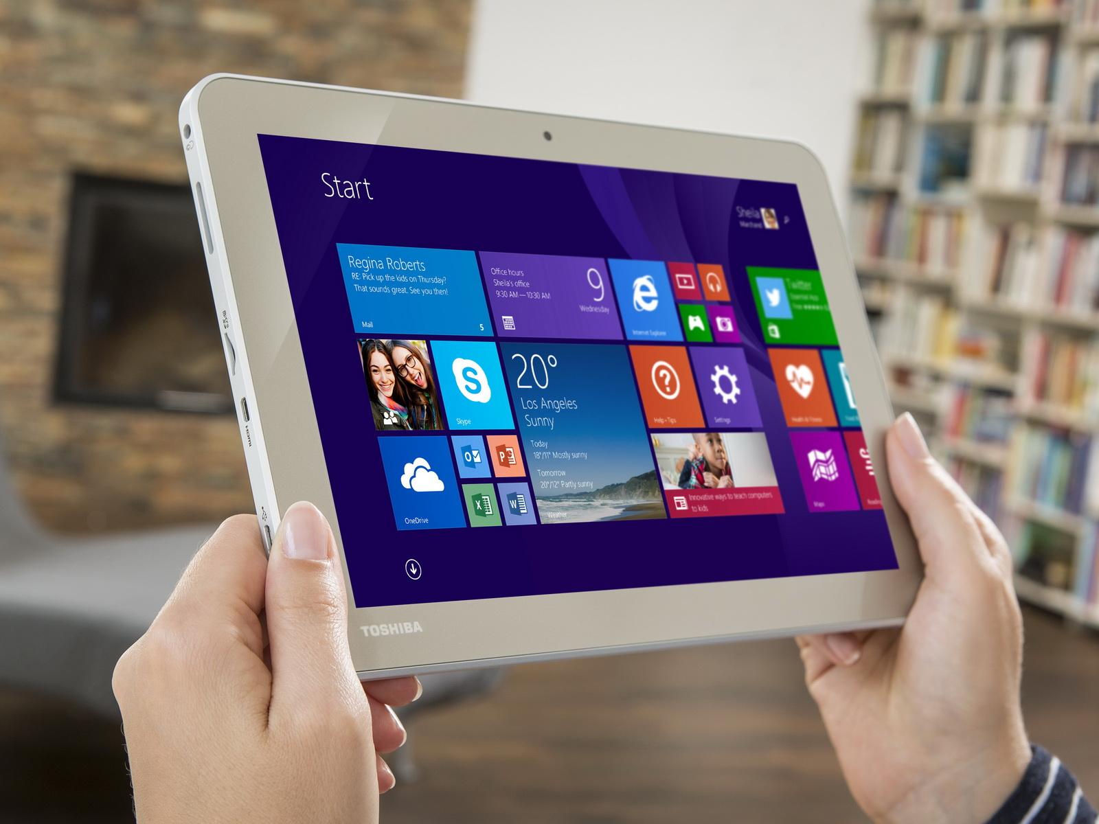 toshiba windows 8 1 tablet encore 2 wt10 a 106 mit bluetooth tastatur news. Black Bedroom Furniture Sets. Home Design Ideas