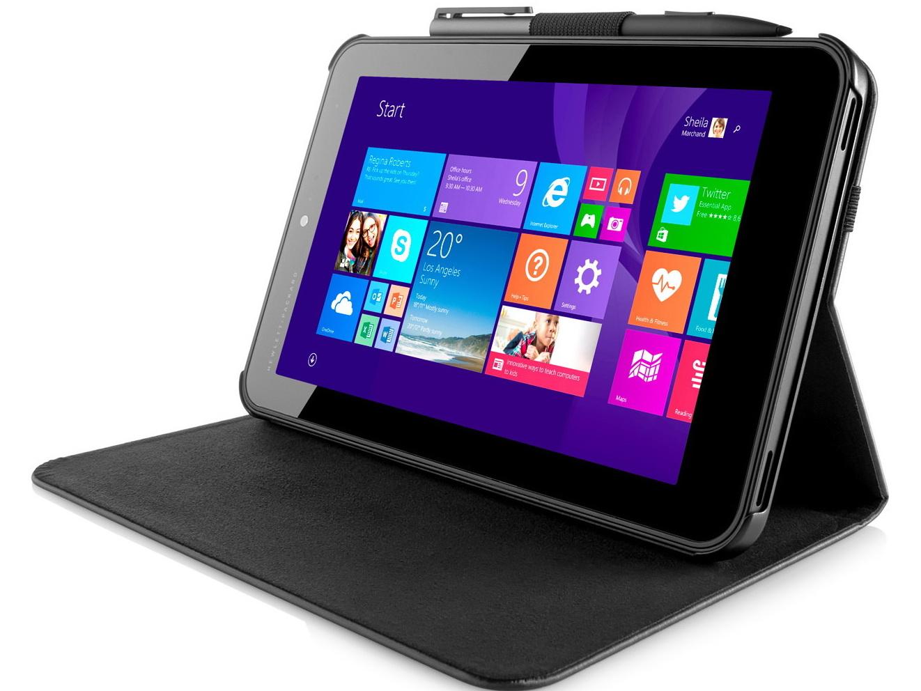 HP: Acht neue Tablets der Serien Elite x2, ElitePad 1000 ...