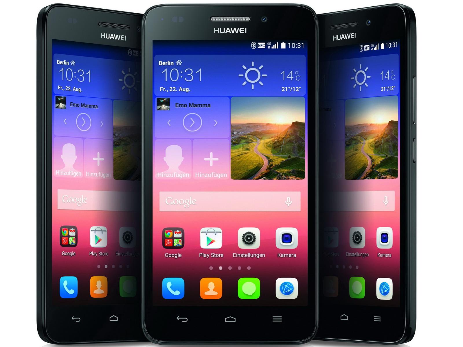 Smartphones Ascend Y550 Und Ascend G620s Smartphones