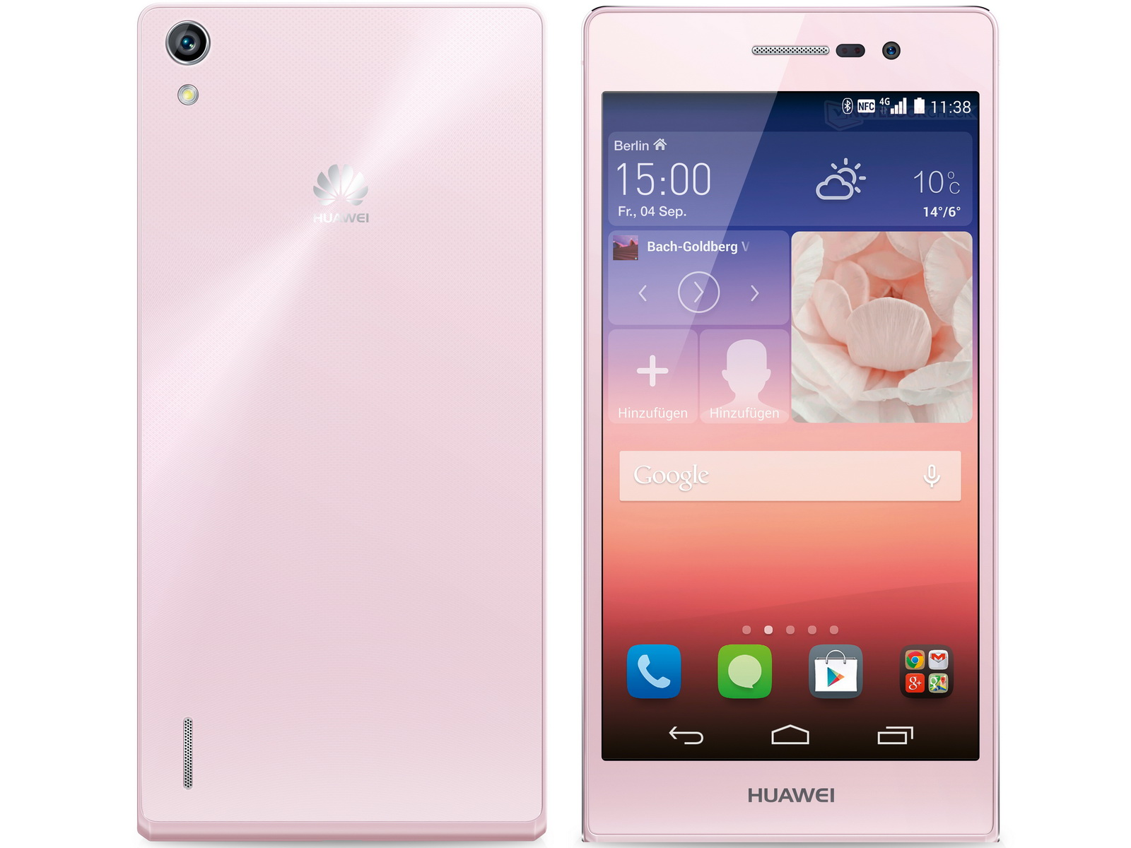 Huawei Ascend P7: 5-Zoll-Smartphone auch in Pink ...
