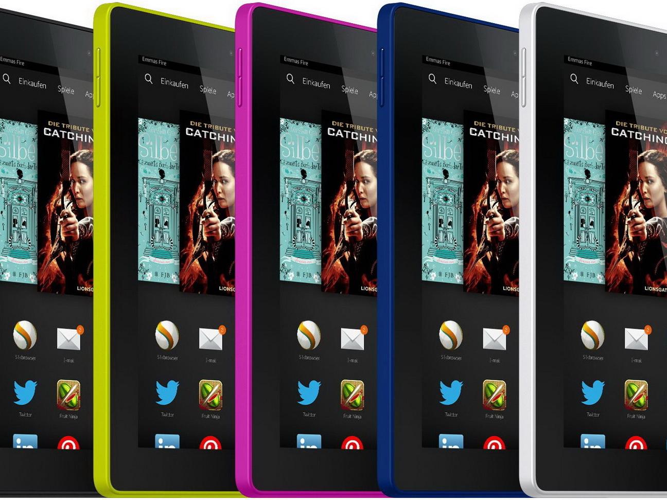 Amazon Tablets: Fire HD 6 und Fire HD 7 mit 6 und 7 Zoll ...