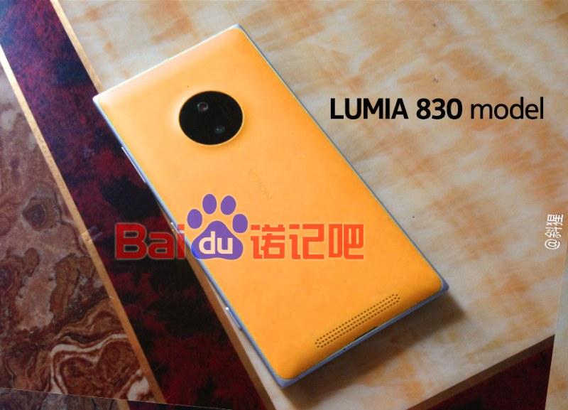 Nokia lumia 830 auf ersten fotos zu sehen