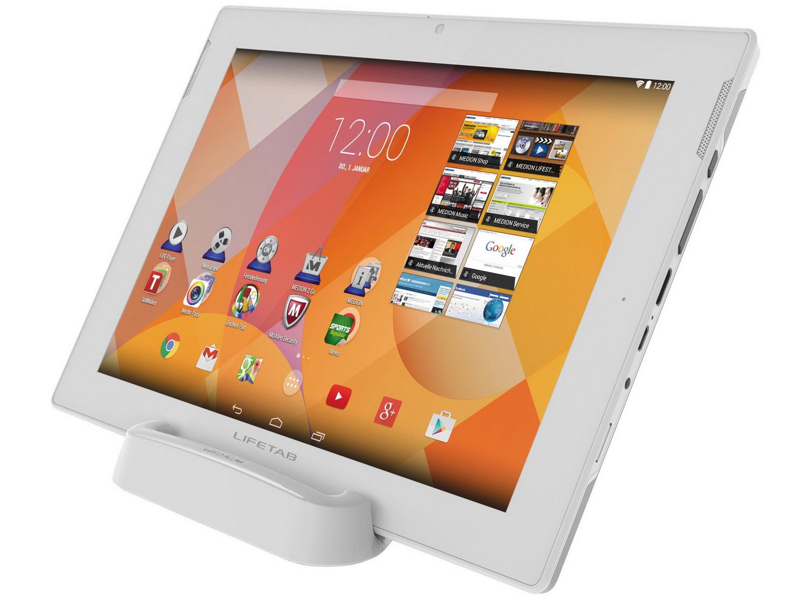 medion 10 1 zoll tablet lifetab s10345 md 99042. Black Bedroom Furniture Sets. Home Design Ideas