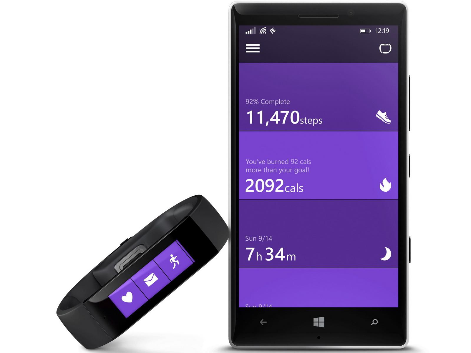 Microsoft Band: Fitnesstracker und Smartwatch ...