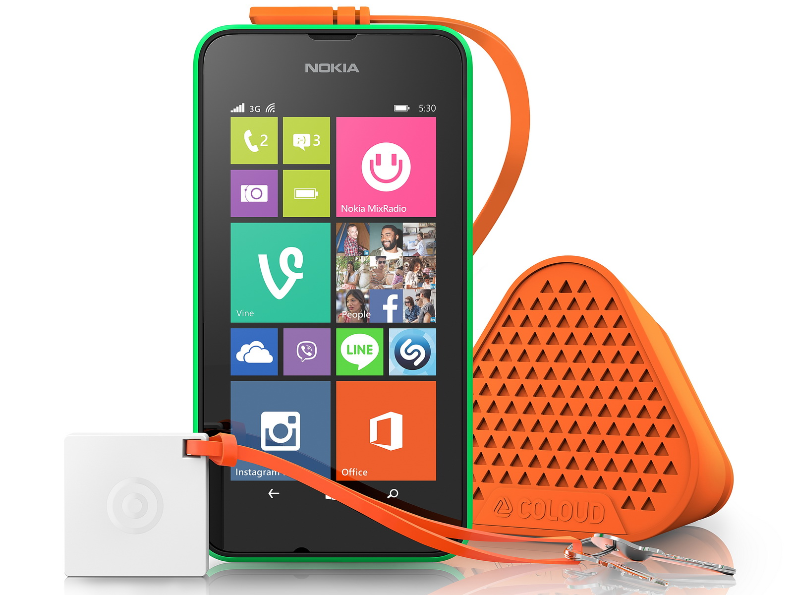microsoft lumia 530 mit windows phone 8 1 ab n chster. Black Bedroom Furniture Sets. Home Design Ideas