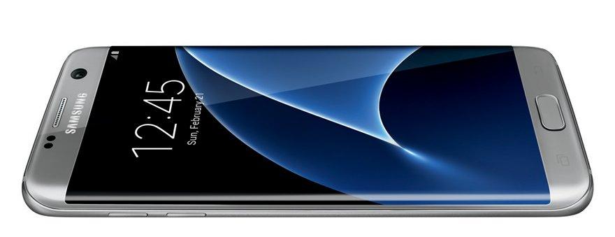 Galaxy S7 edge: So sieht das Phone von Samsung in Silber aus ...