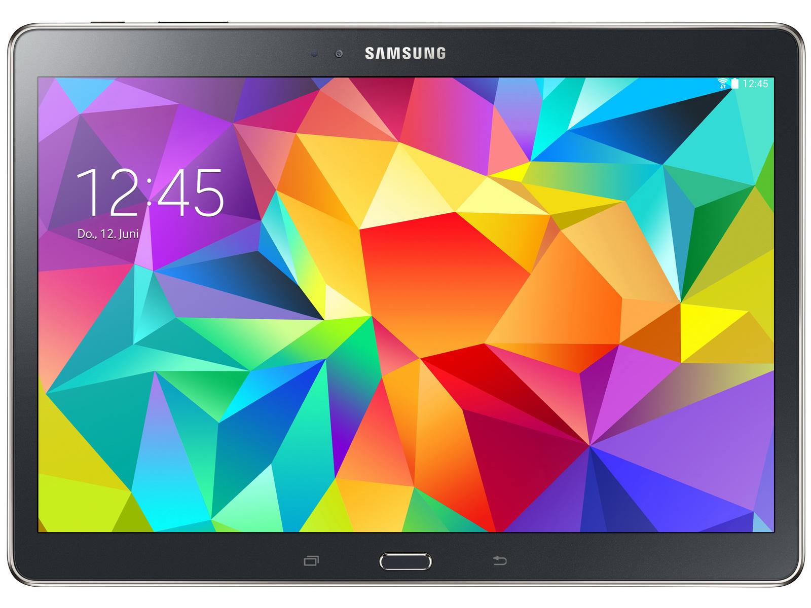 Samsung Galaxy Tab S 10.5: Tablet ab sofort auch in Schwarz -  Notebookcheck.com News