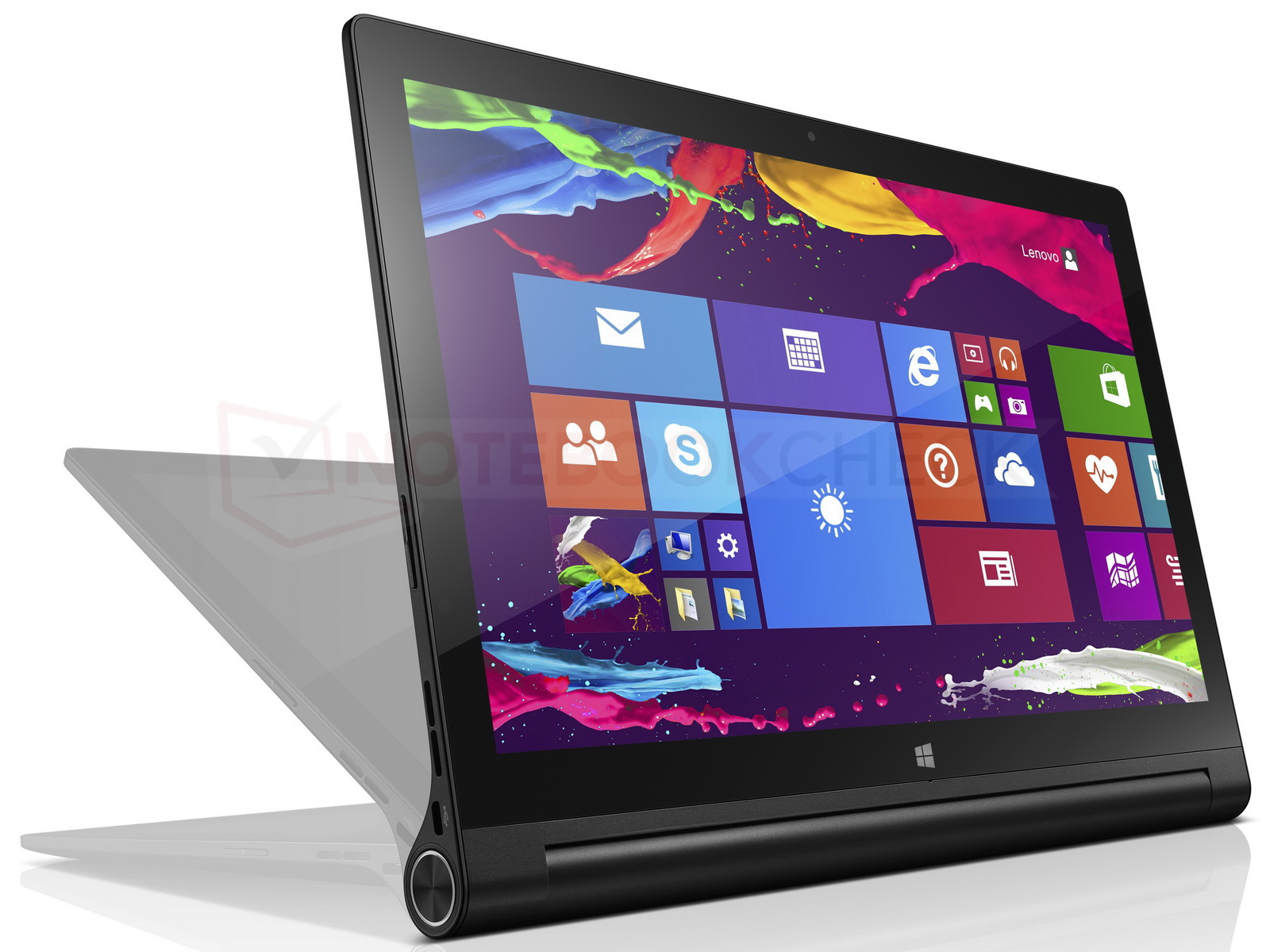 lenovo 13 zoll yoga tablet 2 mit windows 8 1 news. Black Bedroom Furniture Sets. Home Design Ideas