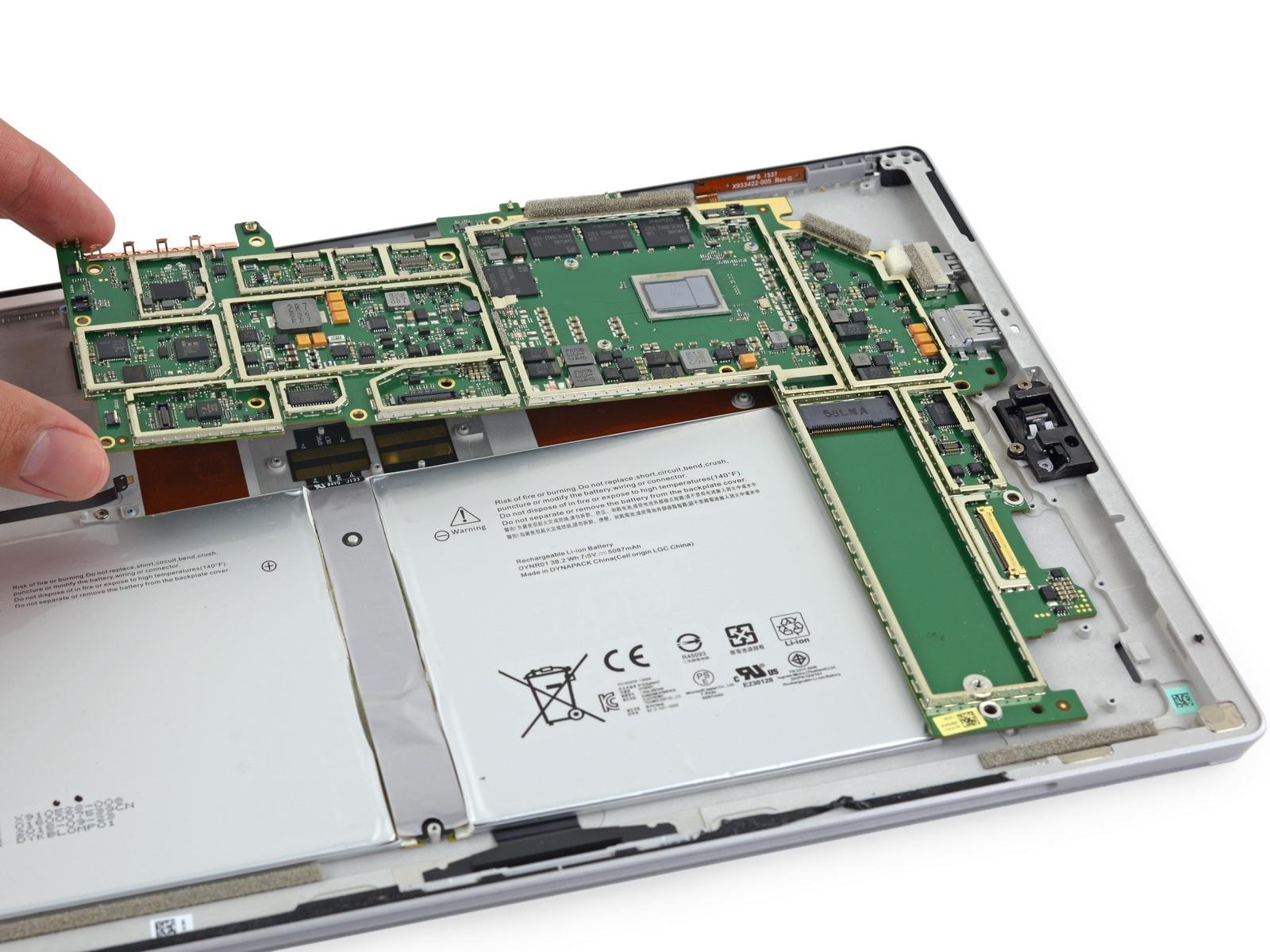 Teardown Surface Pro 4 Sehr Schwierig Zu Reparieren