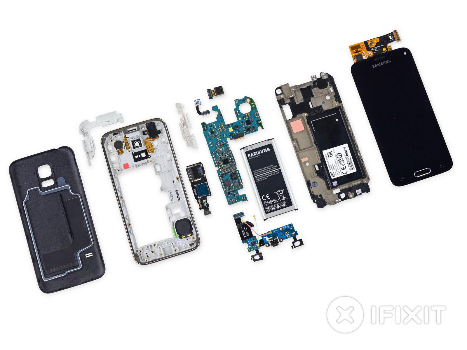 Teardown: IFixit Gibt Samsung Galaxy S5 Mini Einen Repair