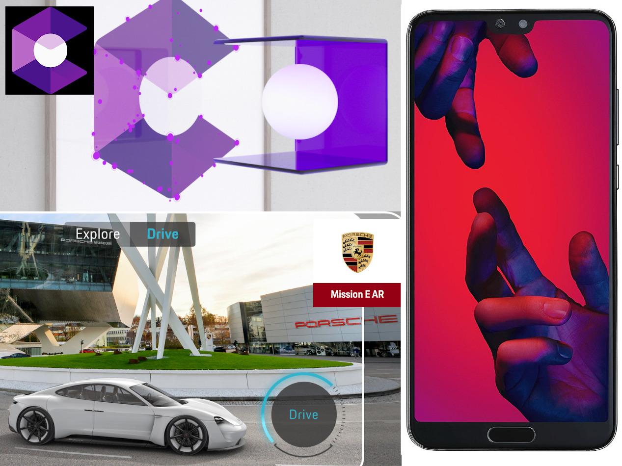 P20-Smartphones von Huawei jetzt mit erweiterter Realität