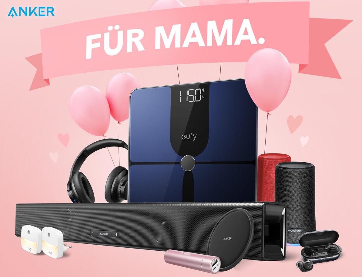 3b1d925d84429 Anker  Technik-Angebote zum Muttertag - Notebookcheck.com News