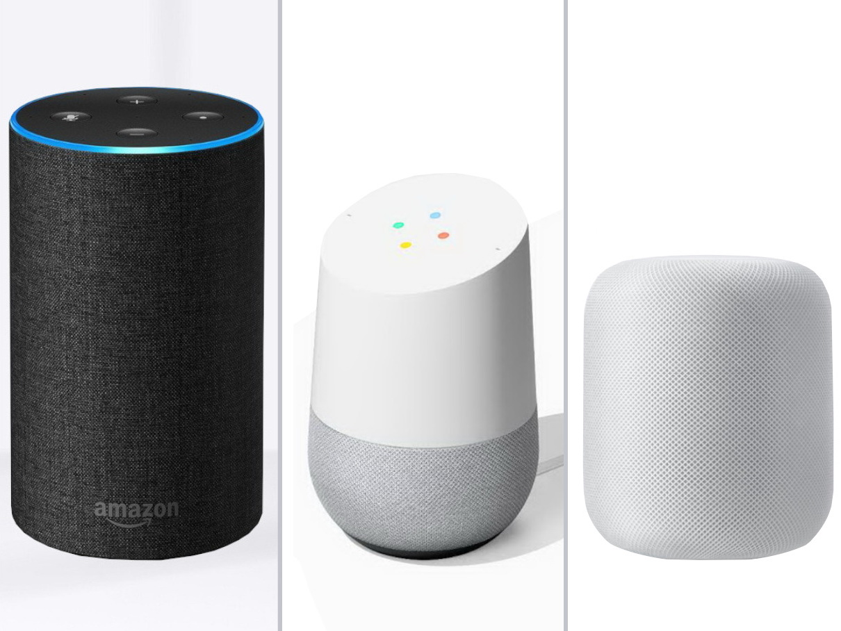 smart speaker amazon echo dominiert vor google home und. Black Bedroom Furniture Sets. Home Design Ideas