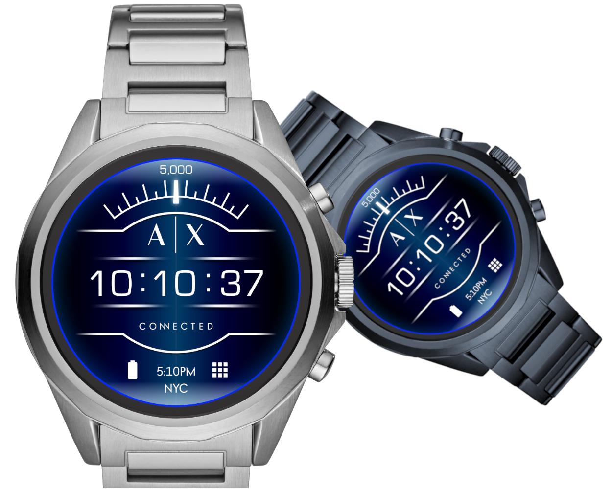 bac2ca4fd Armani Exchange Connected: Erste Touchscreen-Smartwatch des Labels ...