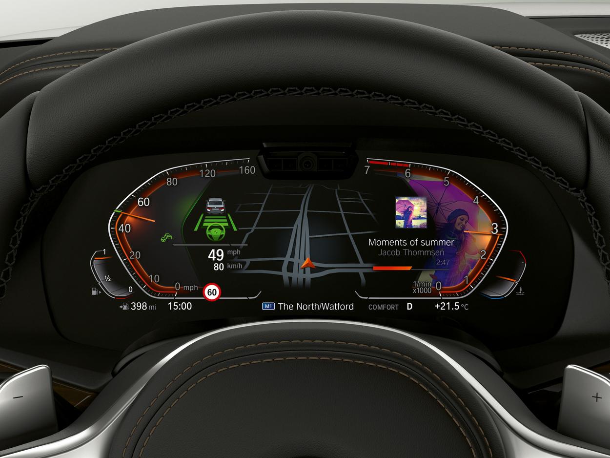 Bmw Neues Digital Cockpit F 252 R Bmw 3er X5 8er Und Z4 Mit