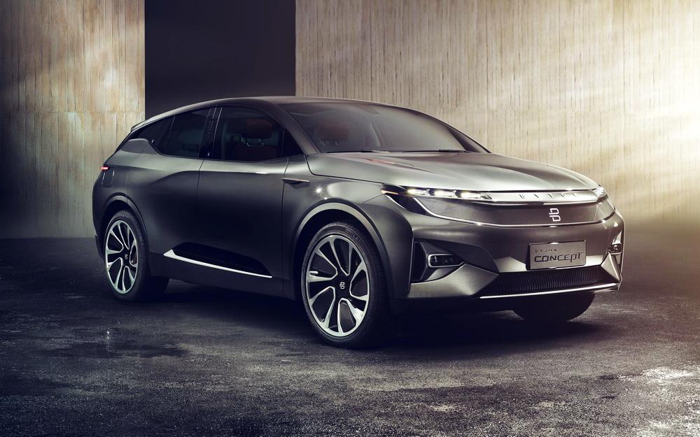 Byton: Intelligenter elektrischer SUV feiert Weltpremiere ...