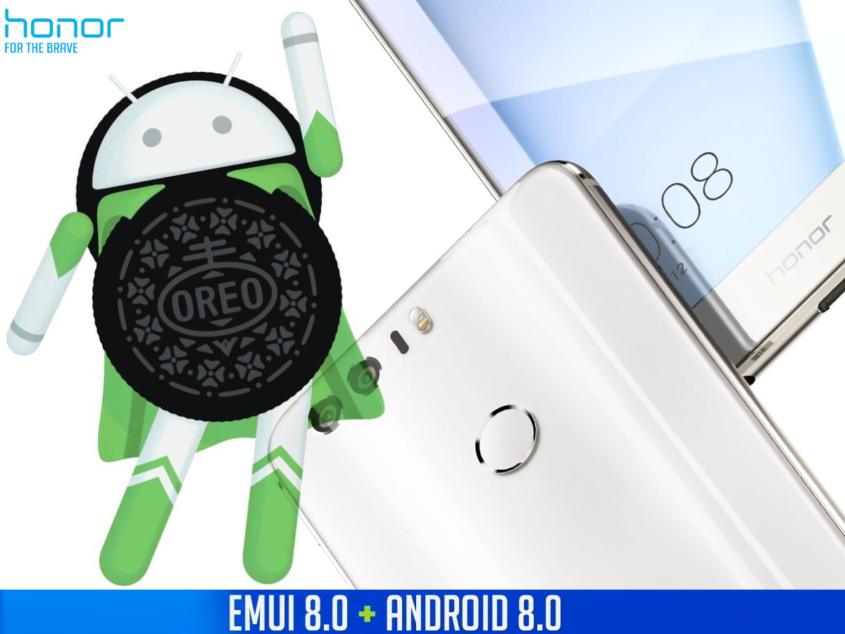 Honor 8 erhält Android 8 Oreo und EMUI 8 0 Update