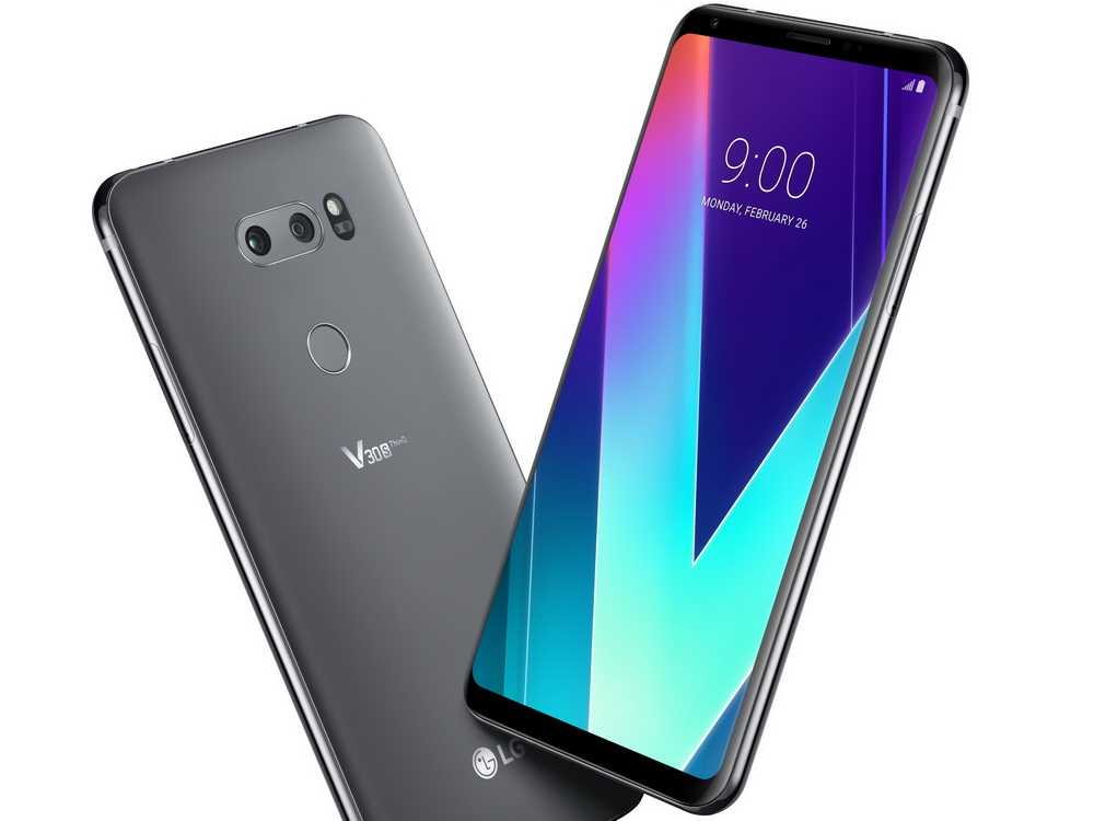 lg v30s thinq 6 zoll smartphone geht ab 785 euro in. Black Bedroom Furniture Sets. Home Design Ideas