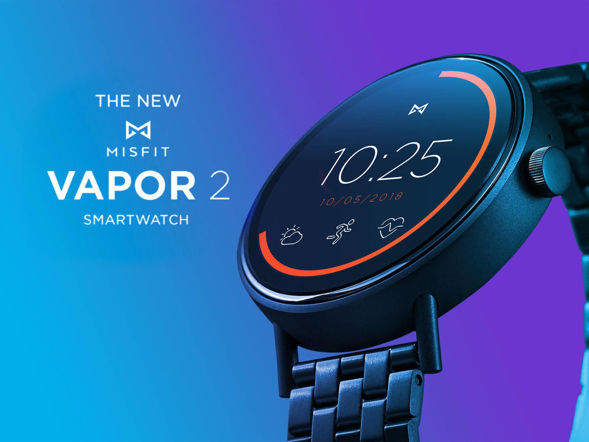 Misfit Vapor 2 Wear Os Smartwatch Kommt Mit Rundem Amoled Display Integriertem Gps Und Nfc Notebookcheck Com News