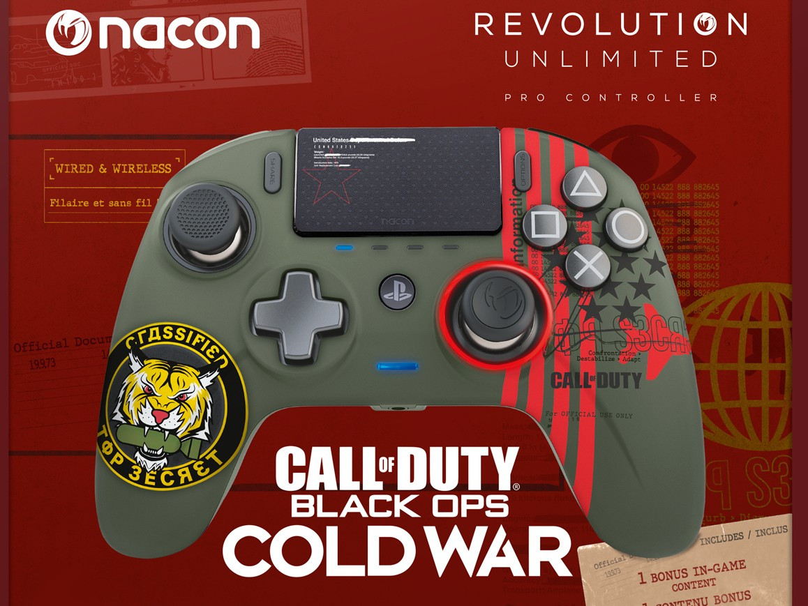 Nacon Kundigt Unlimited Pro Controller Call Of Duty Black Ops Cold War Fur Ps4 An Notebookcheck Com News