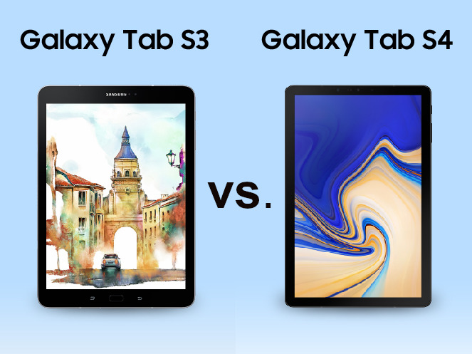 vergleich samsung galaxy tab s3 vs galaxy tab s4. Black Bedroom Furniture Sets. Home Design Ideas