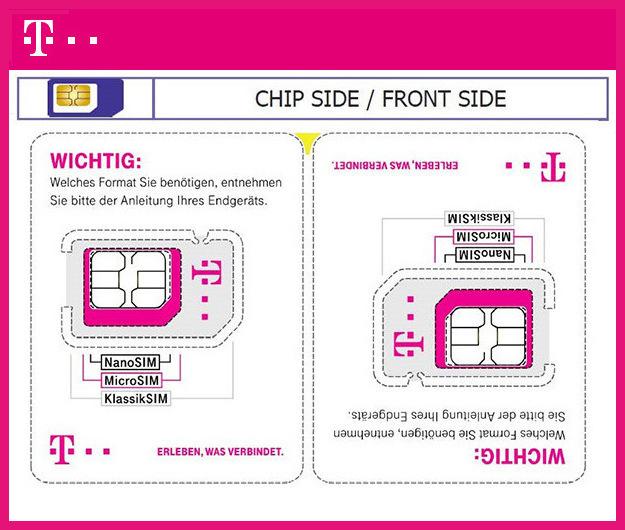 Sim Karte Telekom.Telekom Verkleinert Sim Karte Für Weniger Plastikmüll