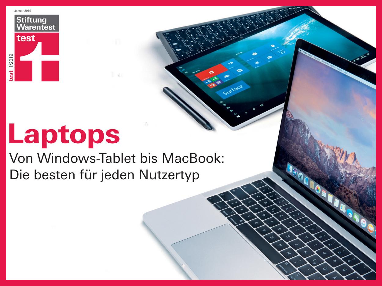 Warentest Acer Apple Und Microsoft Bei Ultrabooks Convertibles Und Tablets Top Medion Versagt Update Notebookcheck Com News