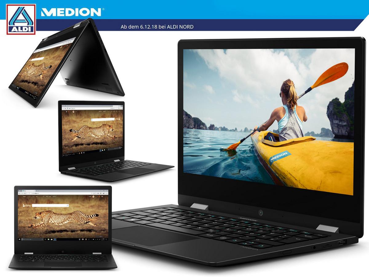 Aldi Medion Akoya E3222 Convertible Ab 6 Dezember Für 300 Euro