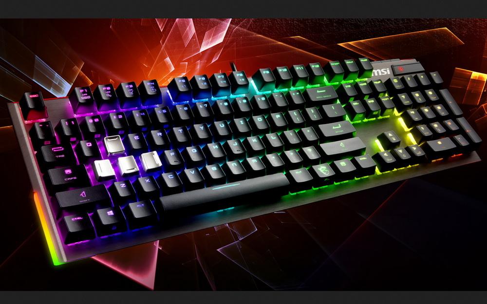 MSI Vigor GK80 und GK70 Gaming-Tastaturen mit Cherry-MX-Switches