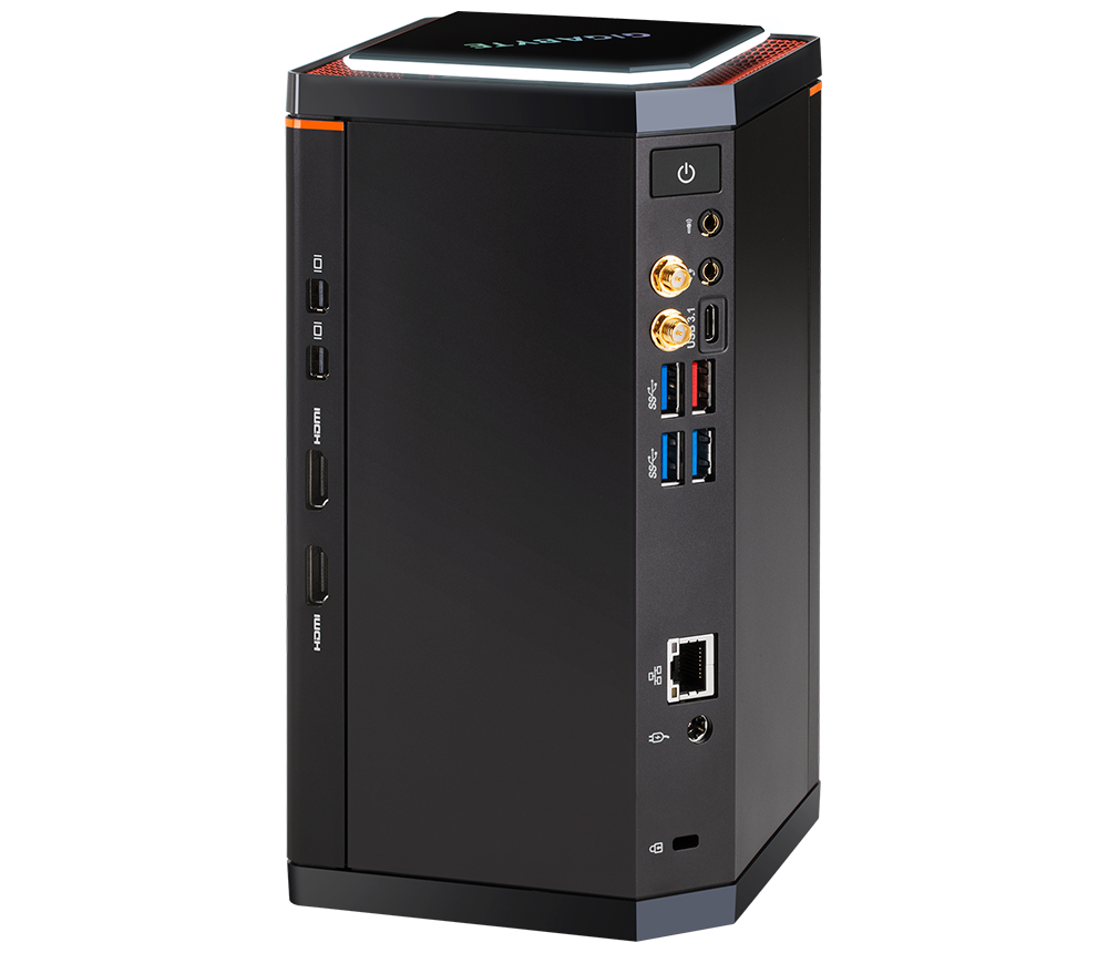 Gigabyte Brix GB-BXA8G-8890 Gaming Barebone | Ebuyer.com