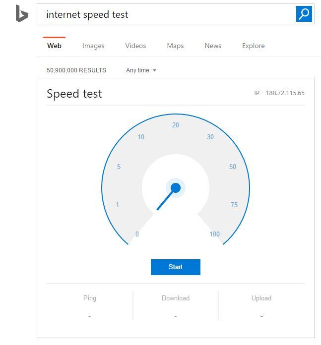 Google: Internet-Speed-Test in den Suchergebnissen ...