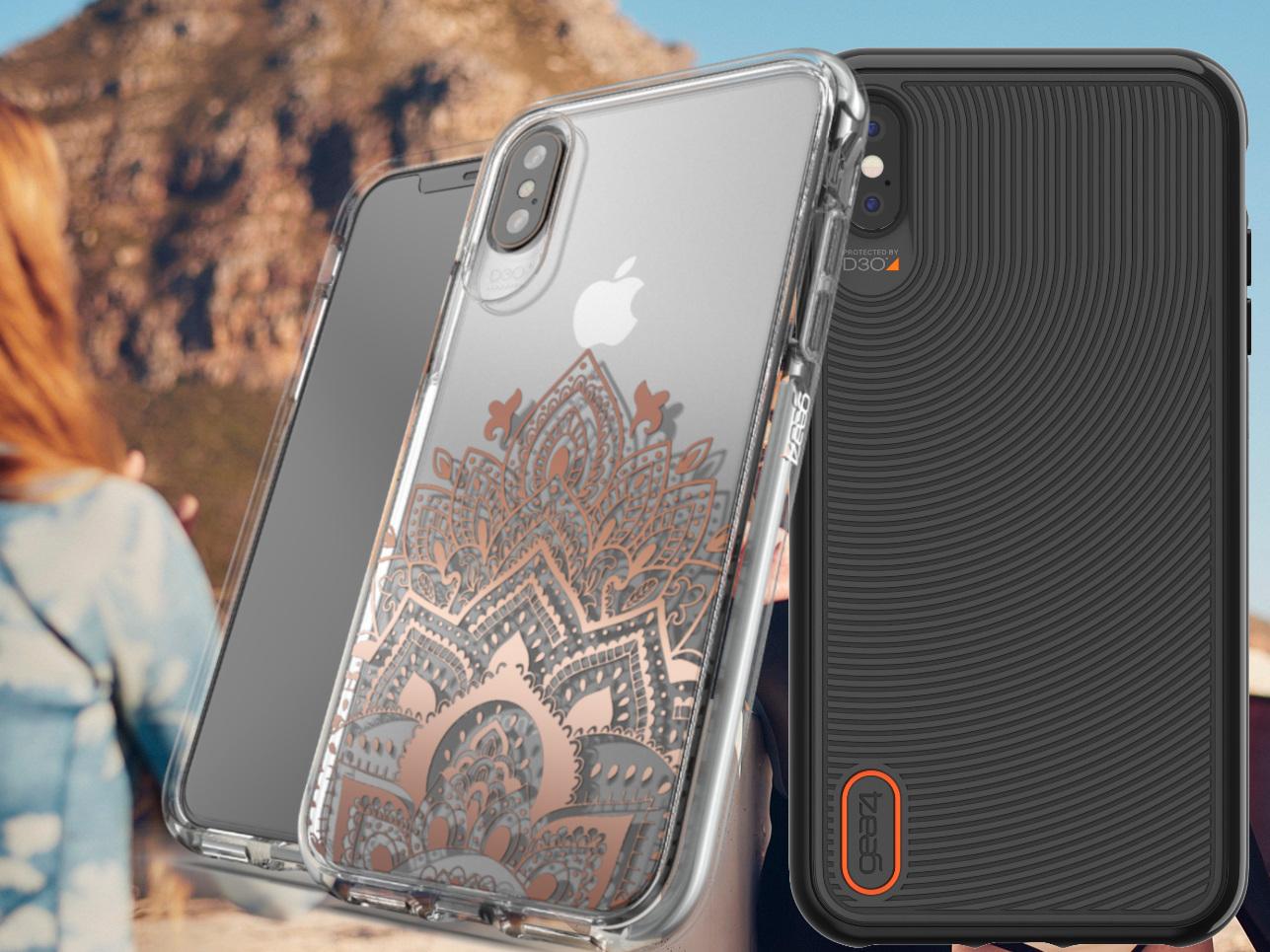 pretty nice 28aeb a1ed0 Gear4 Schutzhüllen mit D3O-Aufprallschutz für Apple iPhone Xs, Xs ...