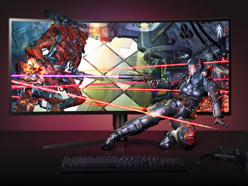 LG präsentiert neue UltraGear Gaming-Monitore mit 34GK950G als