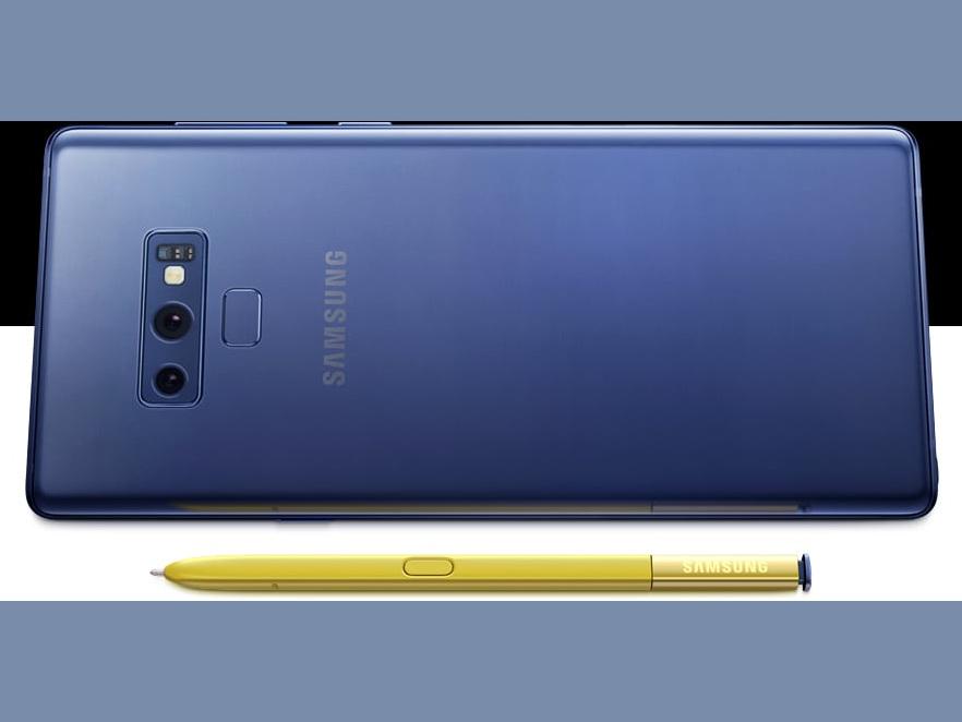 Samsung Galaxy Note 9 Als Enterprise Edition Fur Den Businesseinsatz