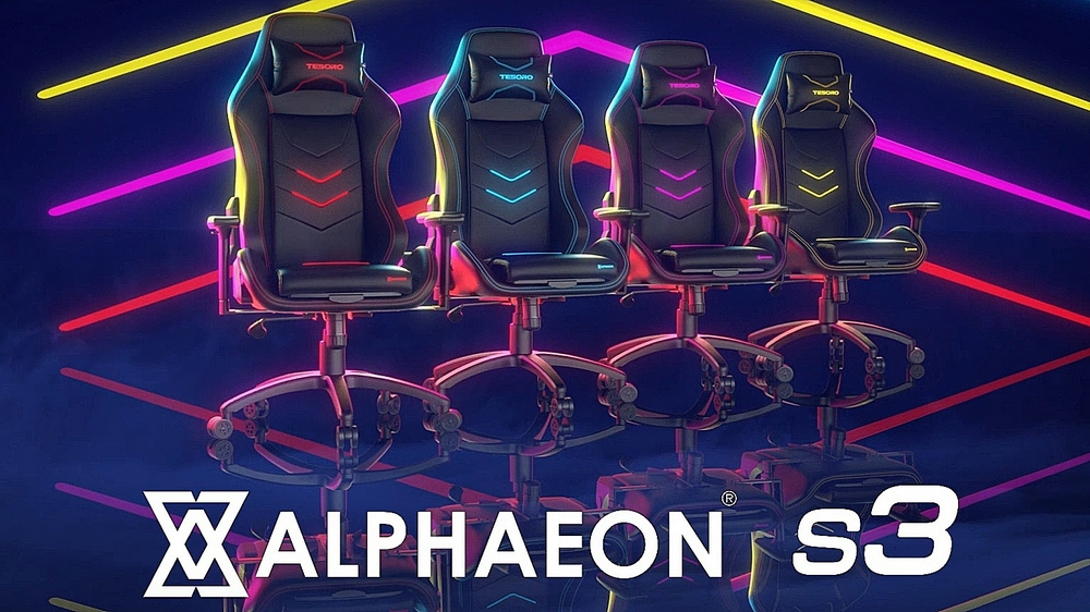 Tesoro F720 Alphaeon S3 Gaming Chair mit exklusiven Features - Notebookcheck.com