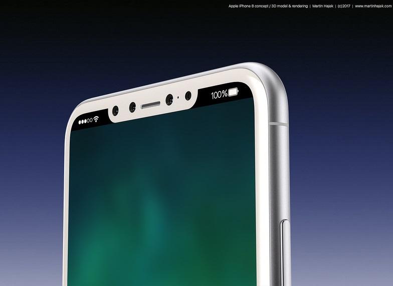 Apple Durfte Beim IPhone 8 Auf Einen 3D Tiefensensor An Der Frontseite Setzen