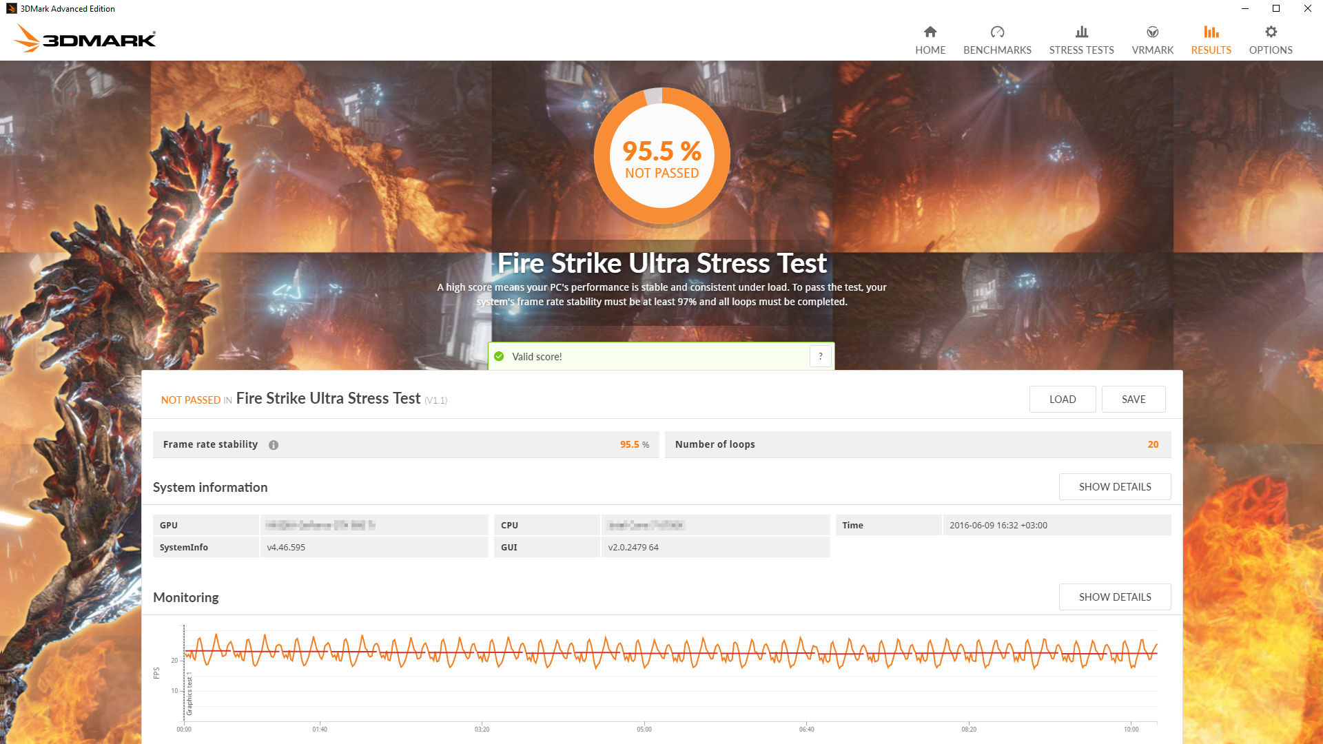 Futuremark: Dedizierter Stresstest in 3DMark - Notebookcheck.com News