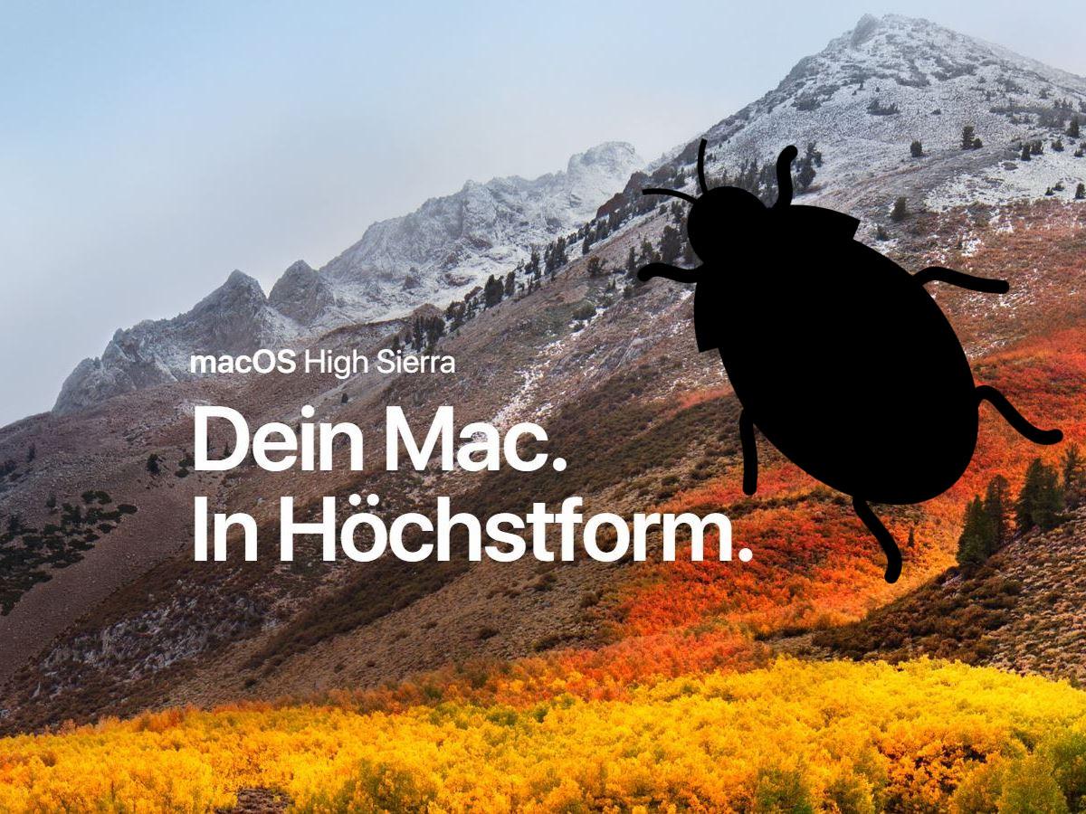 Vorsicht, MacOS-Update bringt schwerwiegenden Root-Bug zurück