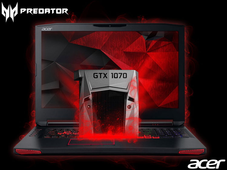Acer: Gaming-Notebooks Predator 15 (G9-593) und Predator ...
