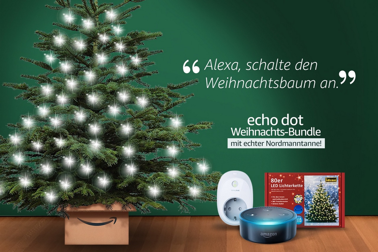 Amazon weihnachtsbaum alexa
