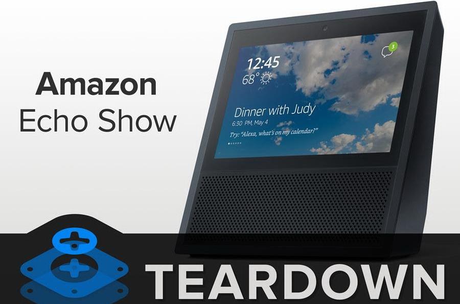 Amazon Echo Show Teardown Des Echo Mit Display Fur Die Kuche