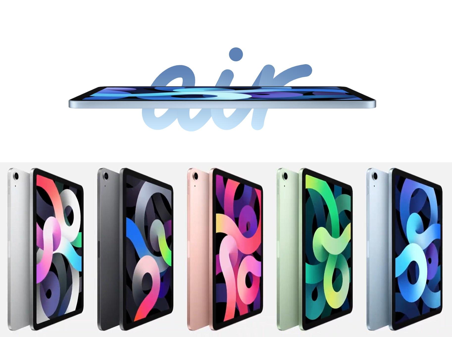Apple präsentiert das runderneuerte iPad Air 20 mit schnellerem ...