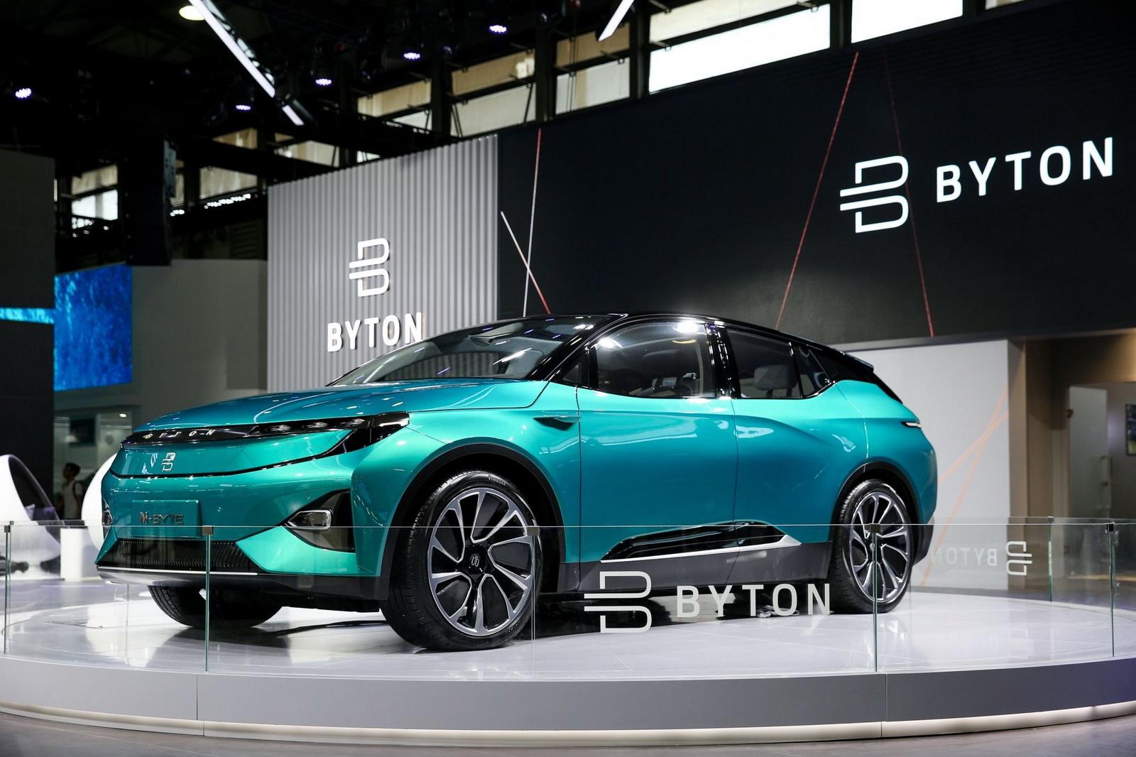 Byton K Byte Concept 2018 Ist Die Elektro Limousine Der